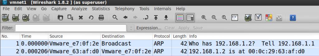 ARP in Wireshark