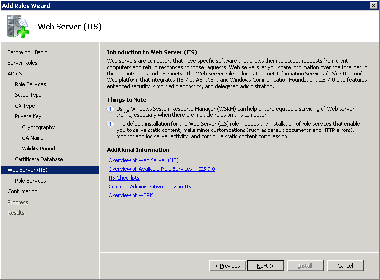 windows-server-2008-IIS-installation