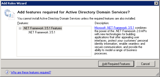 Windows Server 2008 AD Features Requested