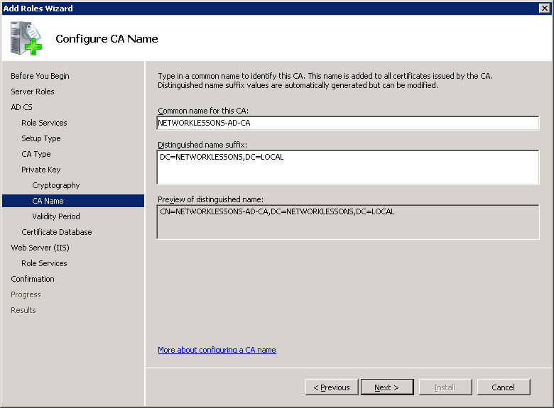 windows-server-2008-ca-name
