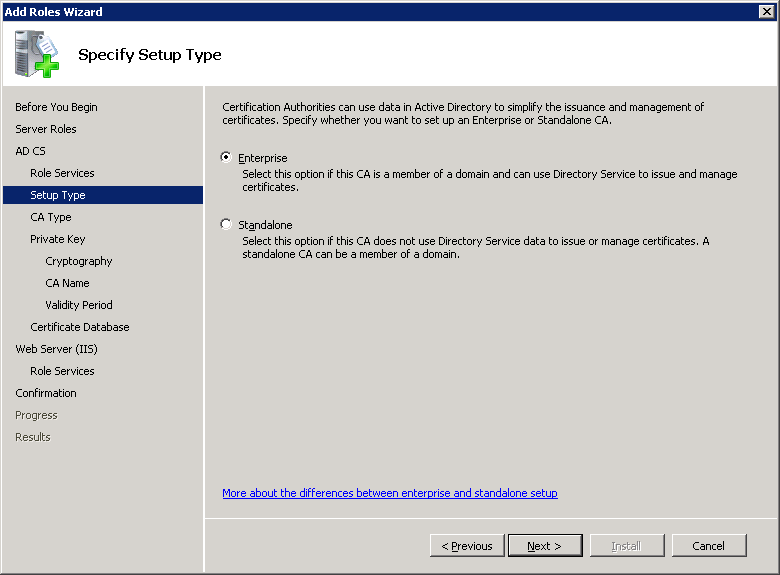 windows-server-2008-ca-type