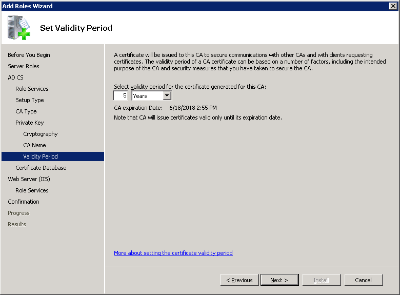windows-server-2008-ca-validity-period