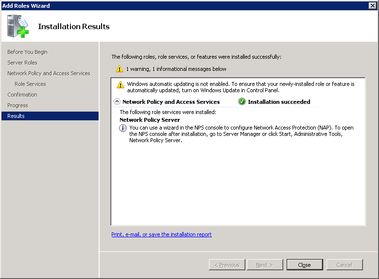 windows-server-2008-nps-installation-results