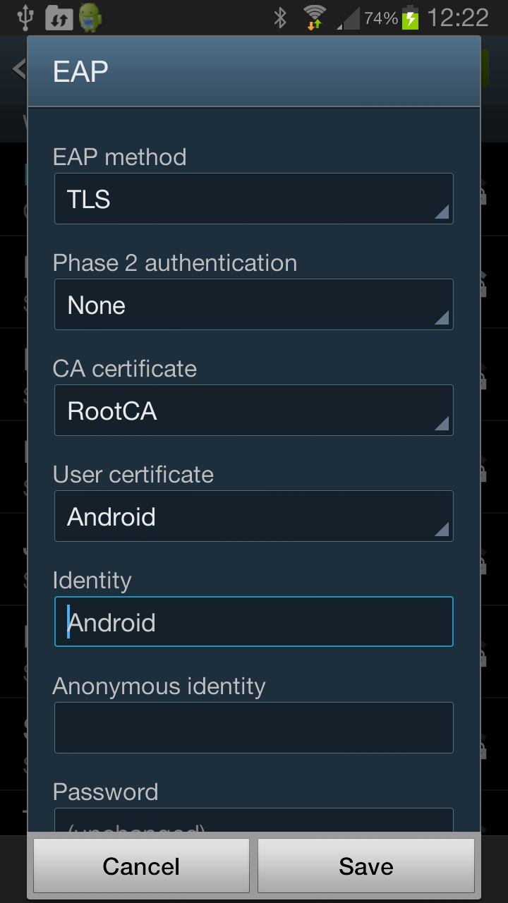 Eap tls certificates for wireless on android networklessons android eap tls profile 1betcityfo Image collections