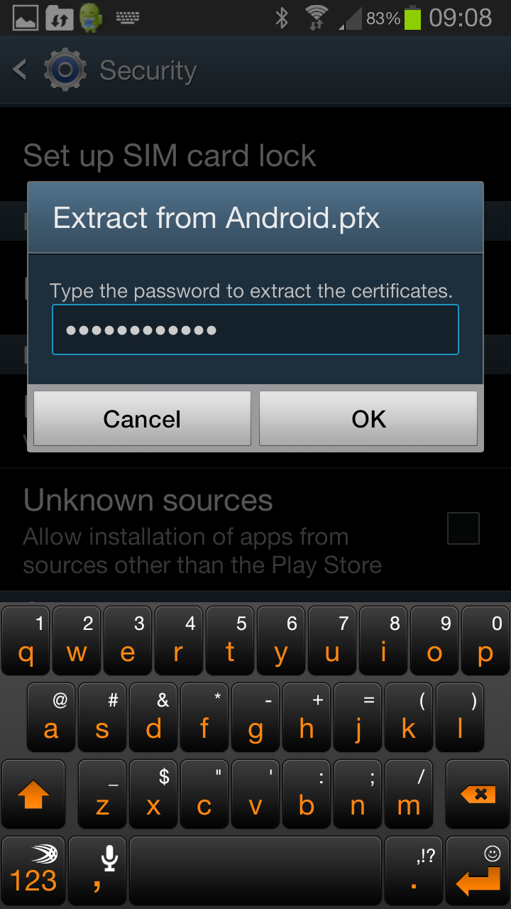 Eap tls certificates for wireless on android networklessons android extract certificate 1betcityfo Image collections