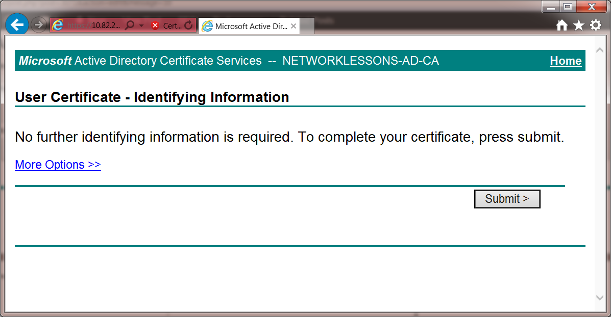 Eap Tls Certificates For Wireless On Android Networklessons
