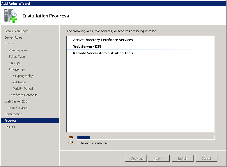 windows-server-2008-CA-IIS-progress