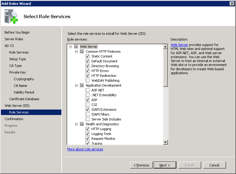 windows-server-2008-IIS-role-services