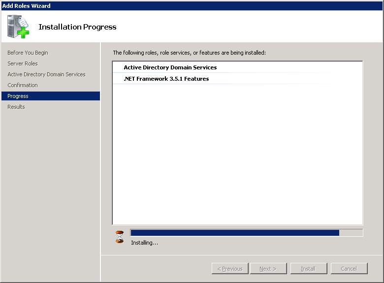 windows-server-2008-active-directory-installation-progress