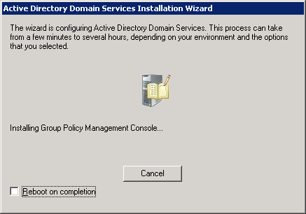 windows-server-2008-ad-domain-services-progress