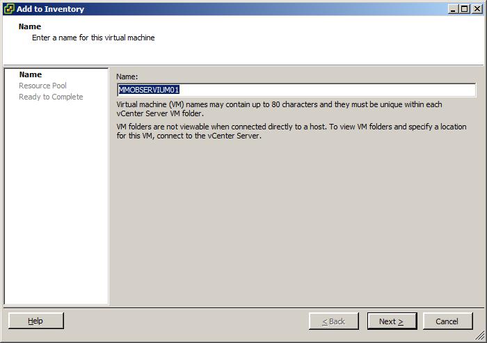 VMWare ESXi 5 Move VM to Different Datastore