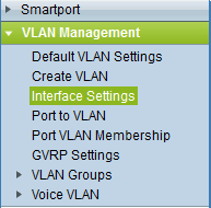 Cisco SMB Interface Settings