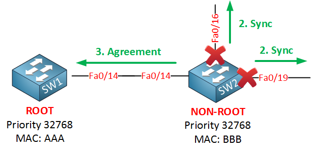 rapid spanning tree agreement