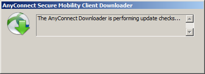 Cisco Anyconnect Downloader