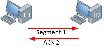 TCP Window size 1