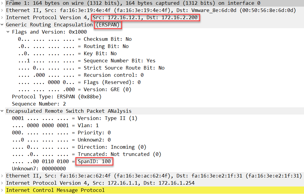 wireshark capture erspan encapsulated icmp request