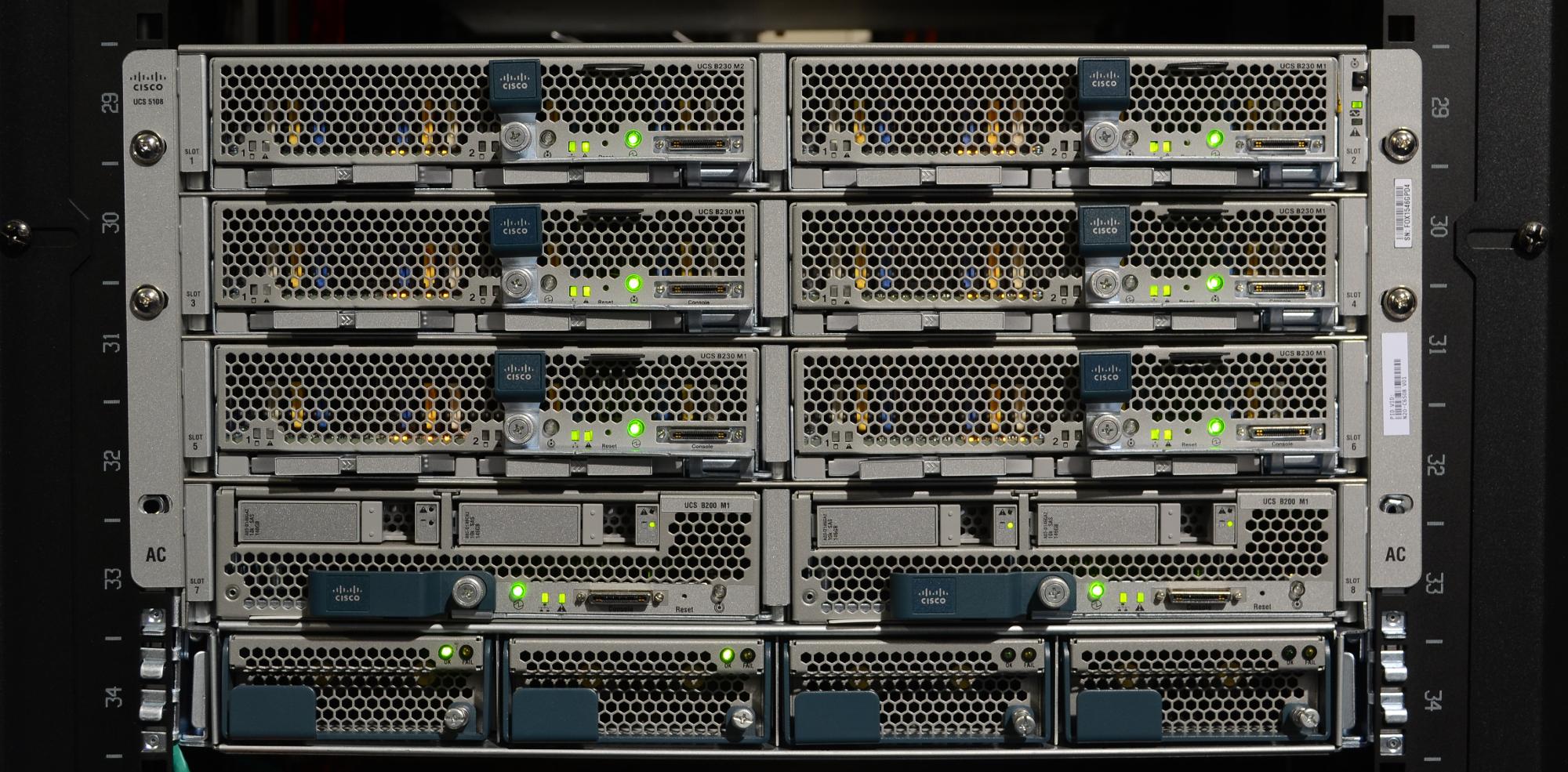 cisco ucs blade server