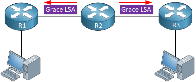 ospf graceful restart grace lsa