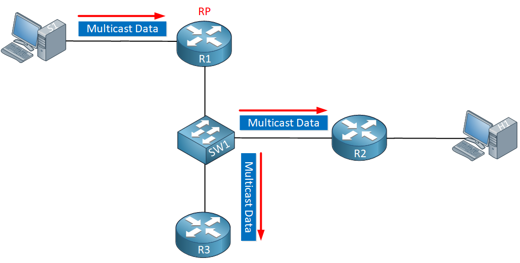 Multicast Pim Snooping Data Flood