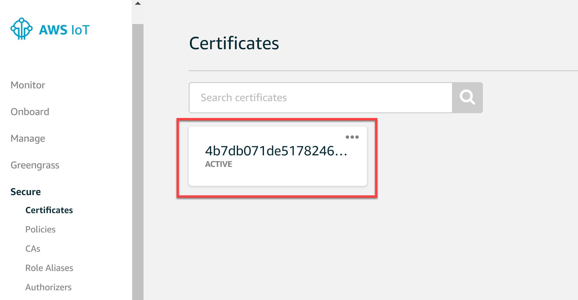 Aws Iot Certificates Esp32