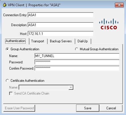 Cisco Vpn Client Properties Asa1