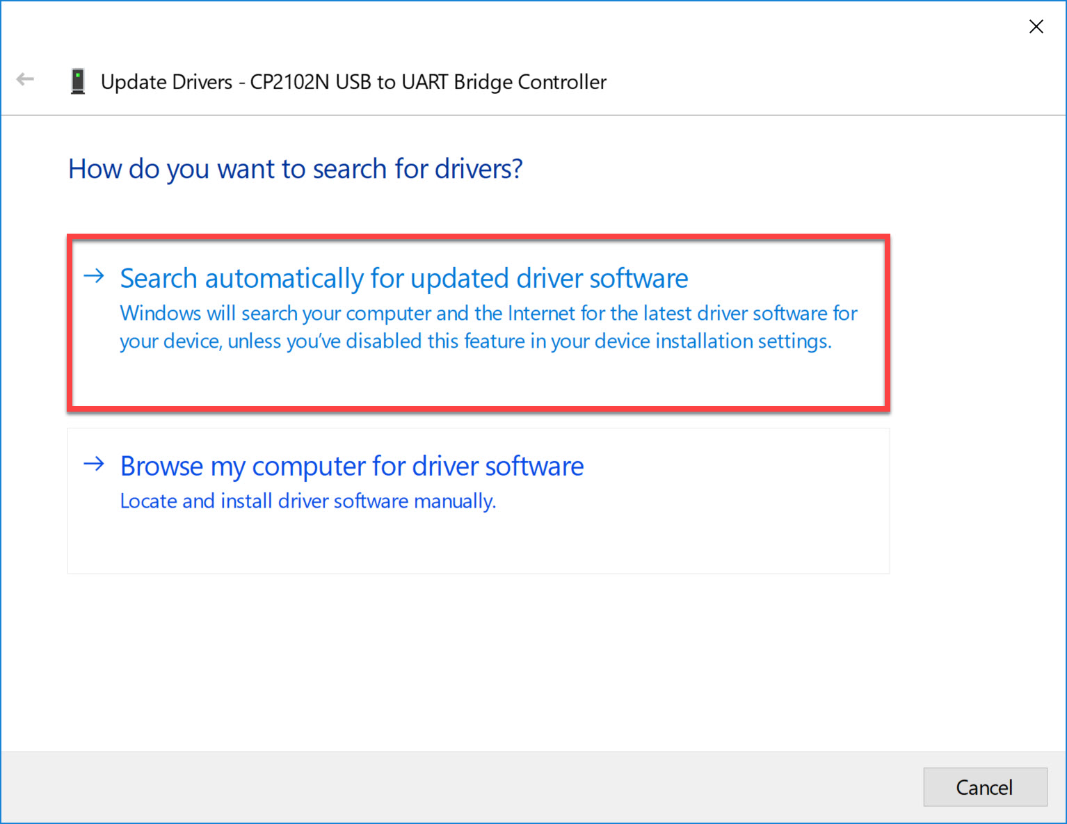 Cpn2102n Search Driver
