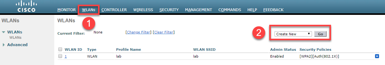 Cisco Wlc Create New Wlan