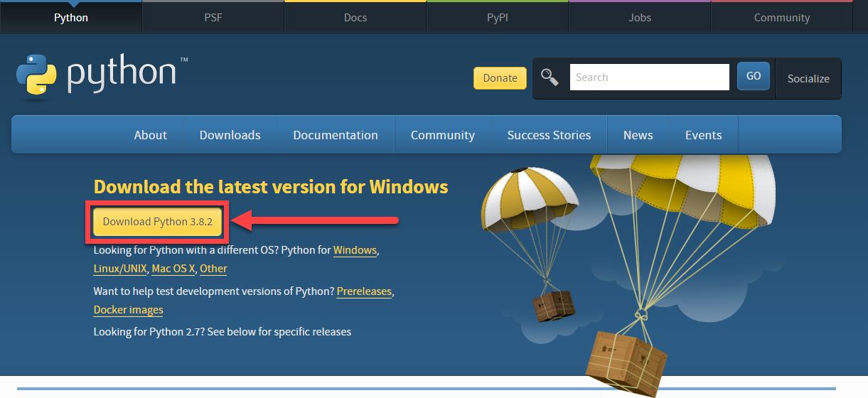 Python Installer Download