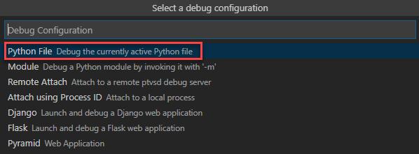 Vscode Python Debug
