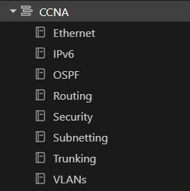 Evernote Sub Categories