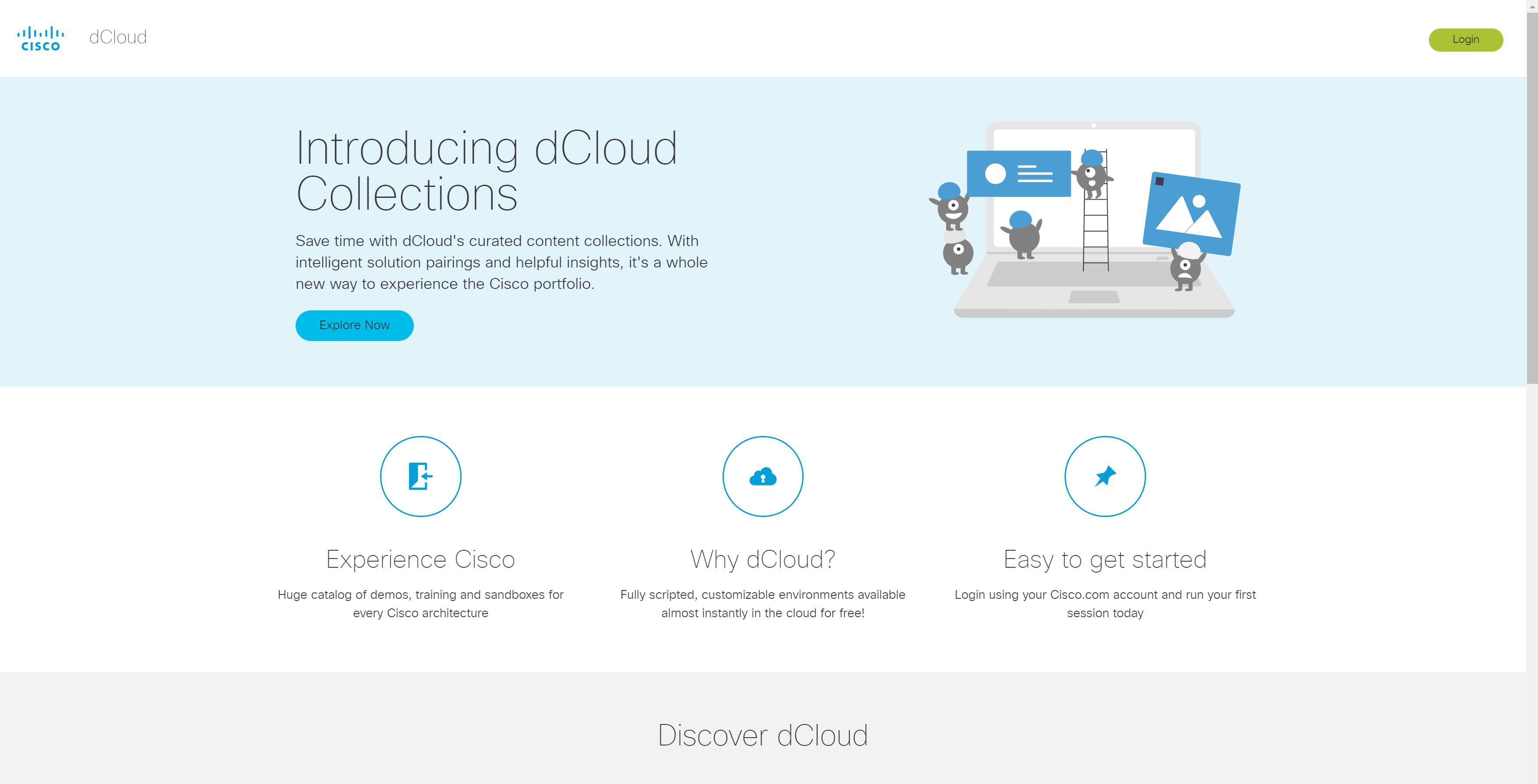 Cisco Dcloud