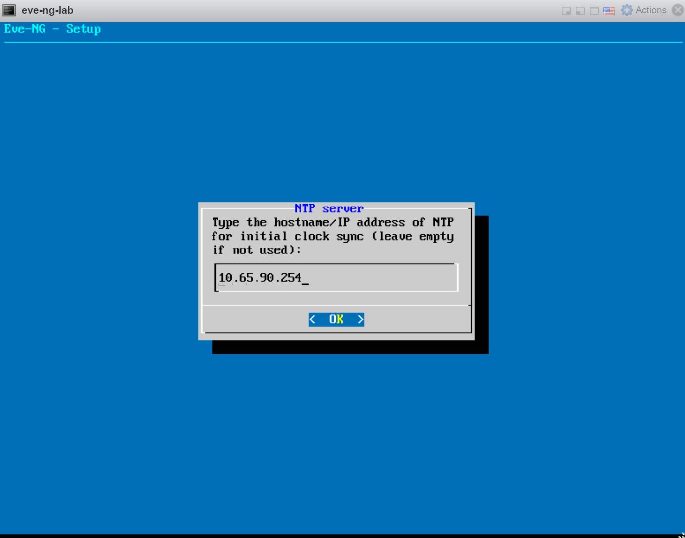 Eve Ng Setup Ntp Server